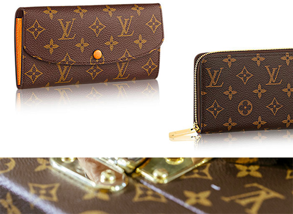 Louis Vuitton кошельки