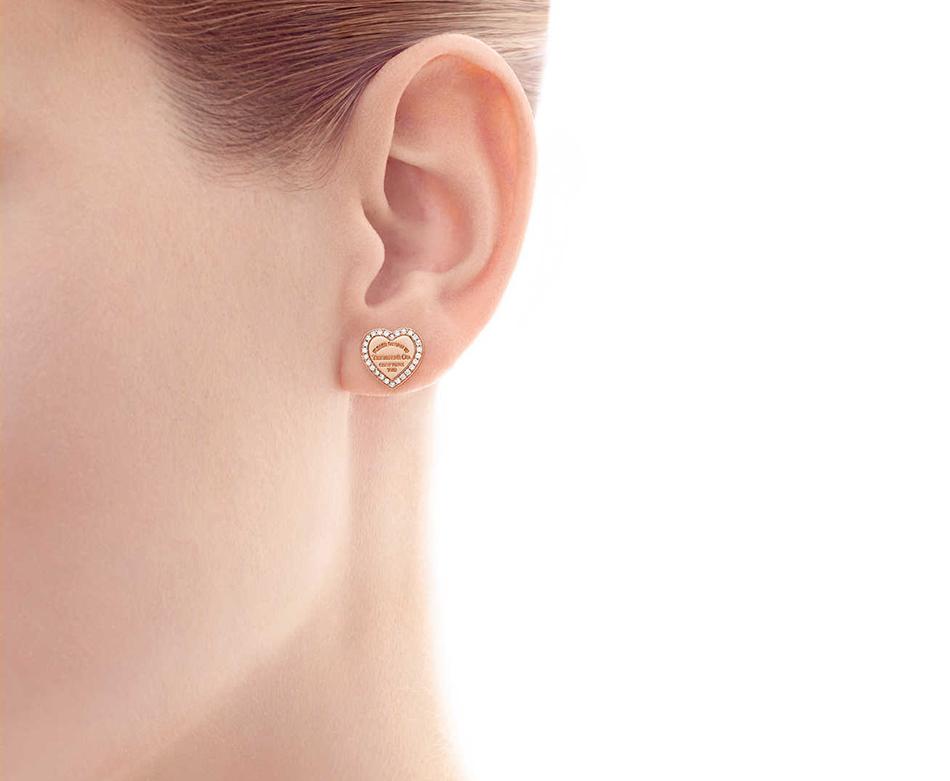 Cерьги в форме сердца Return to Tiffany арт. TF-28749
