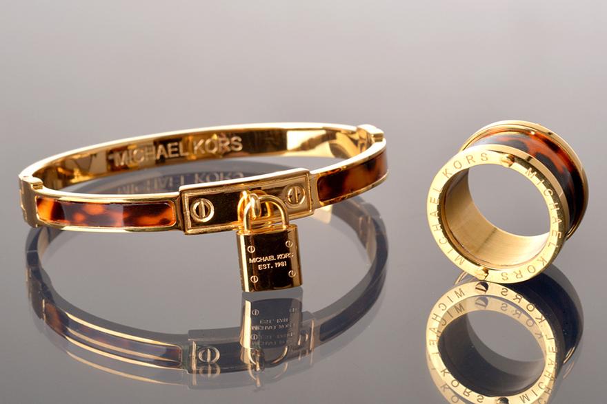 Браслет и кольцо Майкл Корс арт. MK-69238