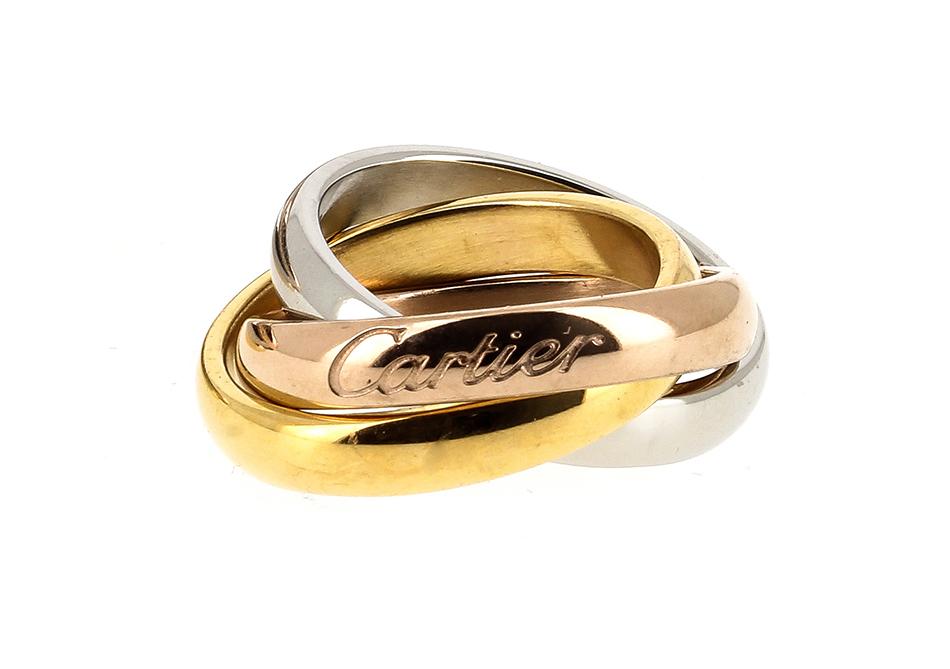 Подвеска, серьги и кольцо Картье арт. CH-141335