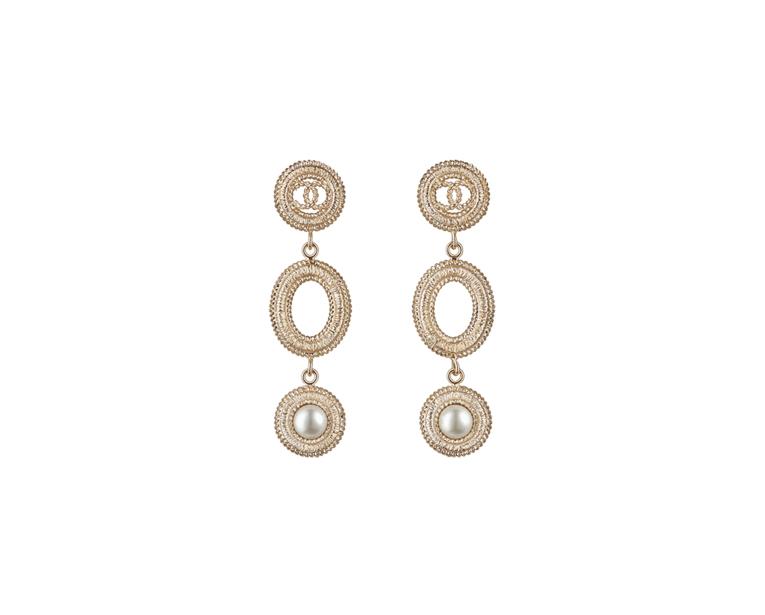 Серьги и ожерелье Шанель арт. CH-183388