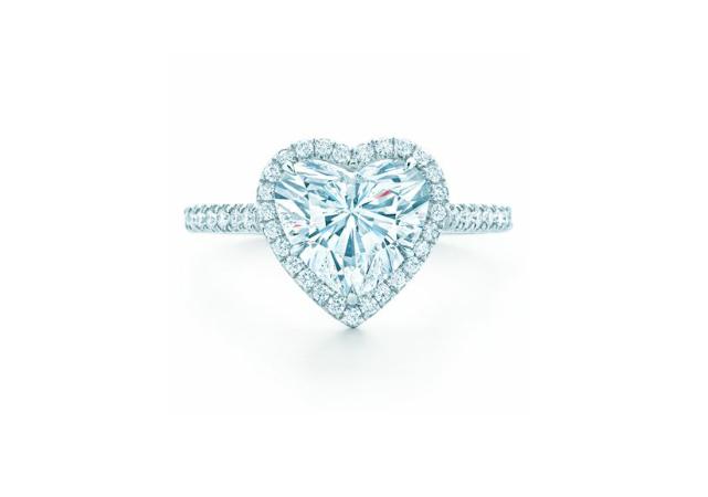 КОЛЬЦО Tiffany Soleste Heart арт. TF-50741