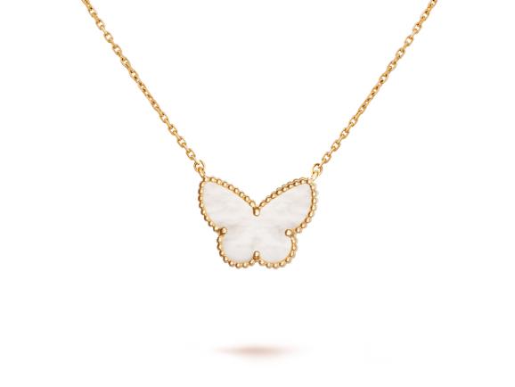 Подвеска Van Cleef Arpels коллекция Lucky Alhambra Butterfly арт. VC-18431