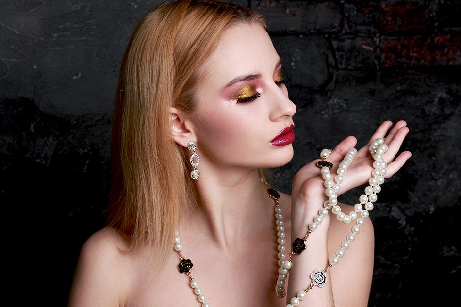 Жемчужное ожерелье Шанель арт. CH-28349